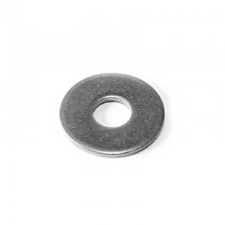 Rondelles plates larges de serrage acier Inox