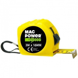 Mesure Roulante 3M x 16MM - MAC-POWER