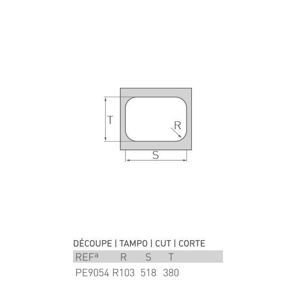 Plaque égouttoir d'évier de cuisine POINT 55 x 40