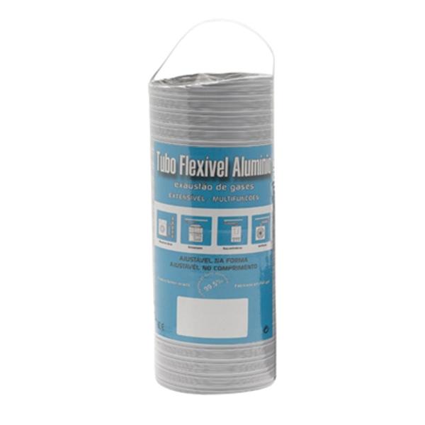 Gaine aluminium blanc extensible à 1M