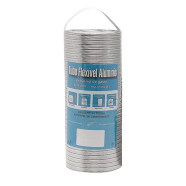Gaine aluminium blanc extensible à 1,5M