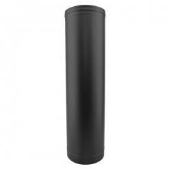Tuyau droit 1 M - Conduit Noir ou Anthracite PRO