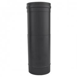 Tuyau ajustable 15 à 25 CM - Conduit Noir ou Anthracite PRO