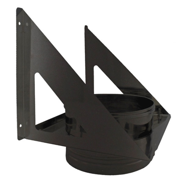 Support charge murale - Conduit Noir ou Anthracite PRO