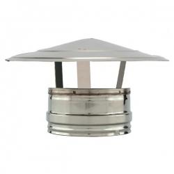 Chapeau para-pluie - Conduit cheminée double paroi isolé PRO
