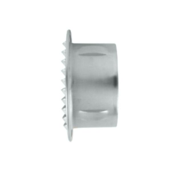 Grille d'aération à encastrer aluminium Ø180