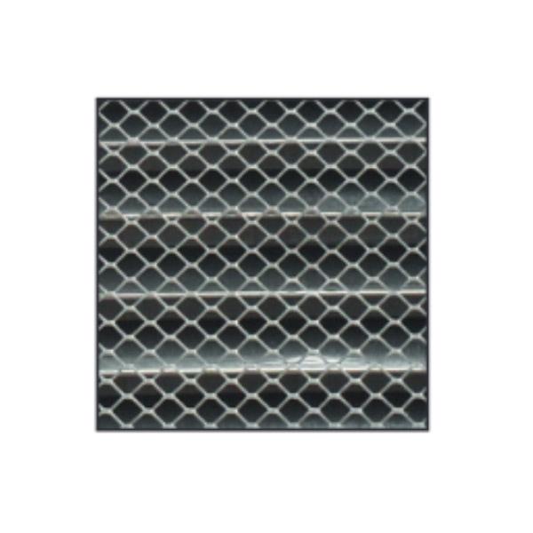 Grille d'aération à encastrer aluminium Ø200