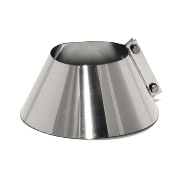 Solin d'étanchéité inox - Tubage / conduit cheminée