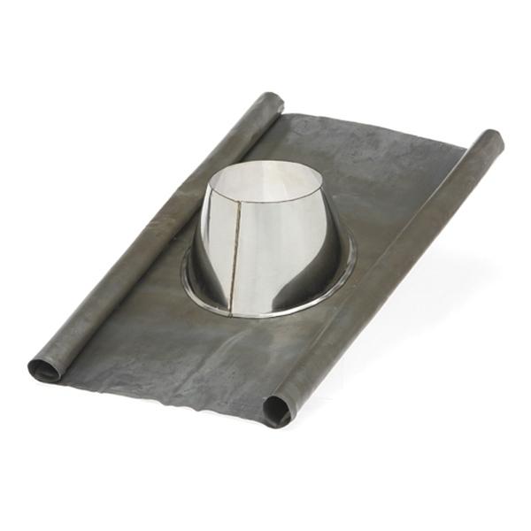 Solin d'étanchéité plomb - Tubage / conduit cheminée