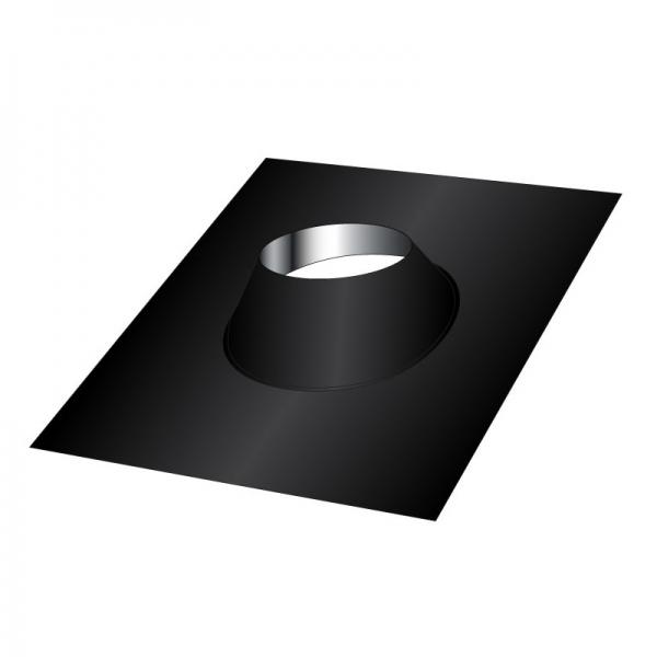 Solin d'étanchéité Inox - Conduit Noir ou Anthracite