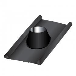 Solin d'étanchéité plomb-inox - Conduit Noir ou Anthracite