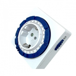 Minuterie Silver Electronics 3600W Blanc