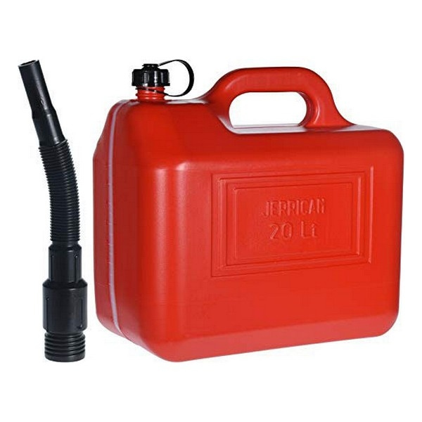 Réservoir de carburant avec entonnoir Self 20 L Rouge
