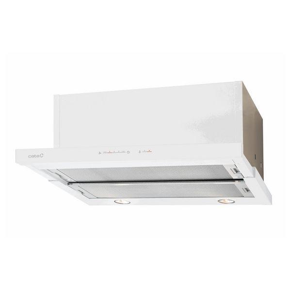 Hotte standard Cata TF7600GWH 60 cm 710 m³/h 130W A Blanc