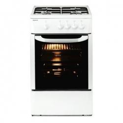 Cuisinière à Gaz BEKO 165510 CSG 42009 DW 9500W 50 cm Blanc