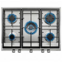 Plaque au gaz Teka EX70.1 5G 70 cm 70 cm Acier inoxydable Noir (5 Feux à gaz)