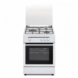 Cuisinière à Gaz Vitrokitchen 222249 1800W 50 x 55 x 85 Blanc
