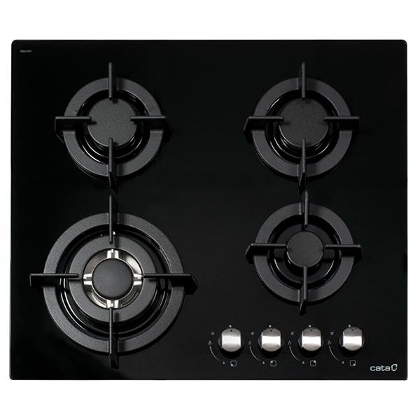 Plaque au gaz Cata CCI6031 (60 cm) Noir (4 Feux à gaz)