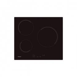 Plaques vitro-céramiques Candy CH63CC 60 cm (3 Zonas de Cocción) Noir