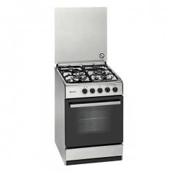 Cuisinière à Gaz Meireles E541X 55 cm Acier inoxydable (3 Feux à gaz)