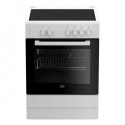 Combiné four et plaques vitro-céramiques BEKO FSS67000GW 71 L 60 cm Blanc (4 Zones de cuisson)