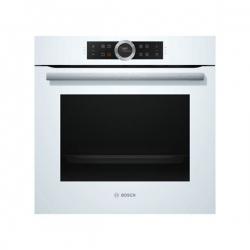 Four à pyrolyse BOSCH HBG675BW1 71 L Display TFT 3650W Blanc