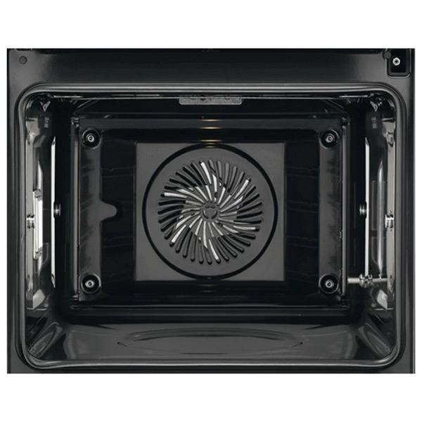 Four à pyrolyse Aeg BPE642120M 71 L Touch Control 3000W Acier inoxydable Noir