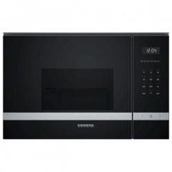 Micro-ondes intégrable avec grill Siemens AG BE525LMS0 MF 20 L 1270W Noir