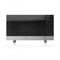 Micro-ondes avec Gril Cecotec ProClean 6110 23 L 800W Noir Argenté