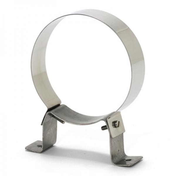 Collier support fixe Ø130 - Conduit cheminée