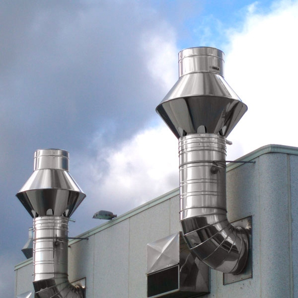 Chapeau cheminée Inox Venturi