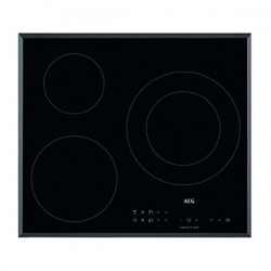 Plaque à Induction Aeg IKB63302FB 60 cm Noir (3 Zones de cuisson)