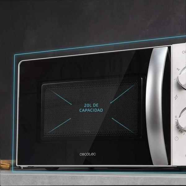 Micro-ondes avec Gril Cecotec ProClean 2110 20 L 700W Blanc