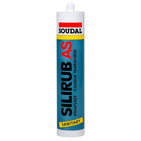 Silicone-mastic acétique SILIRUB S
