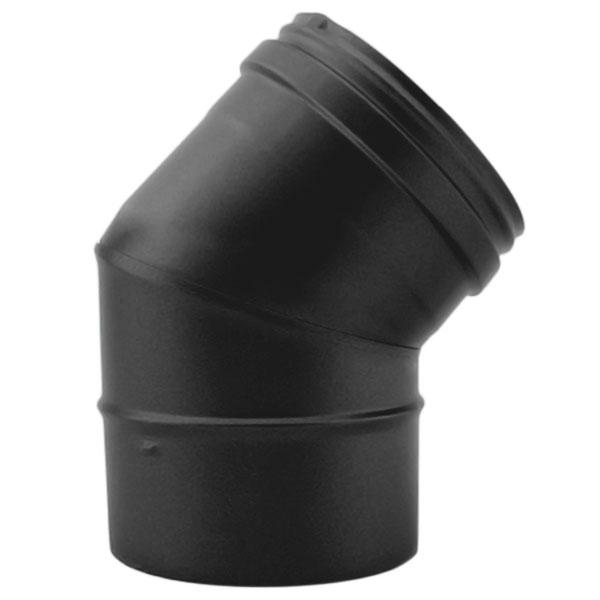 Coude à 45° - Conduit Noir ou Anthracite PRO
