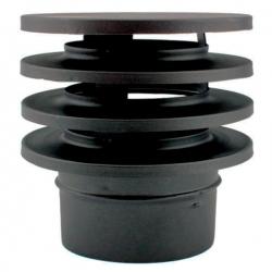 Chapeau anti-refoulement - Conduit Noir ou Anthracite PRO