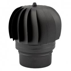 Chapeau extracteur fumée - Conduit Noir ou Anthracite PRO